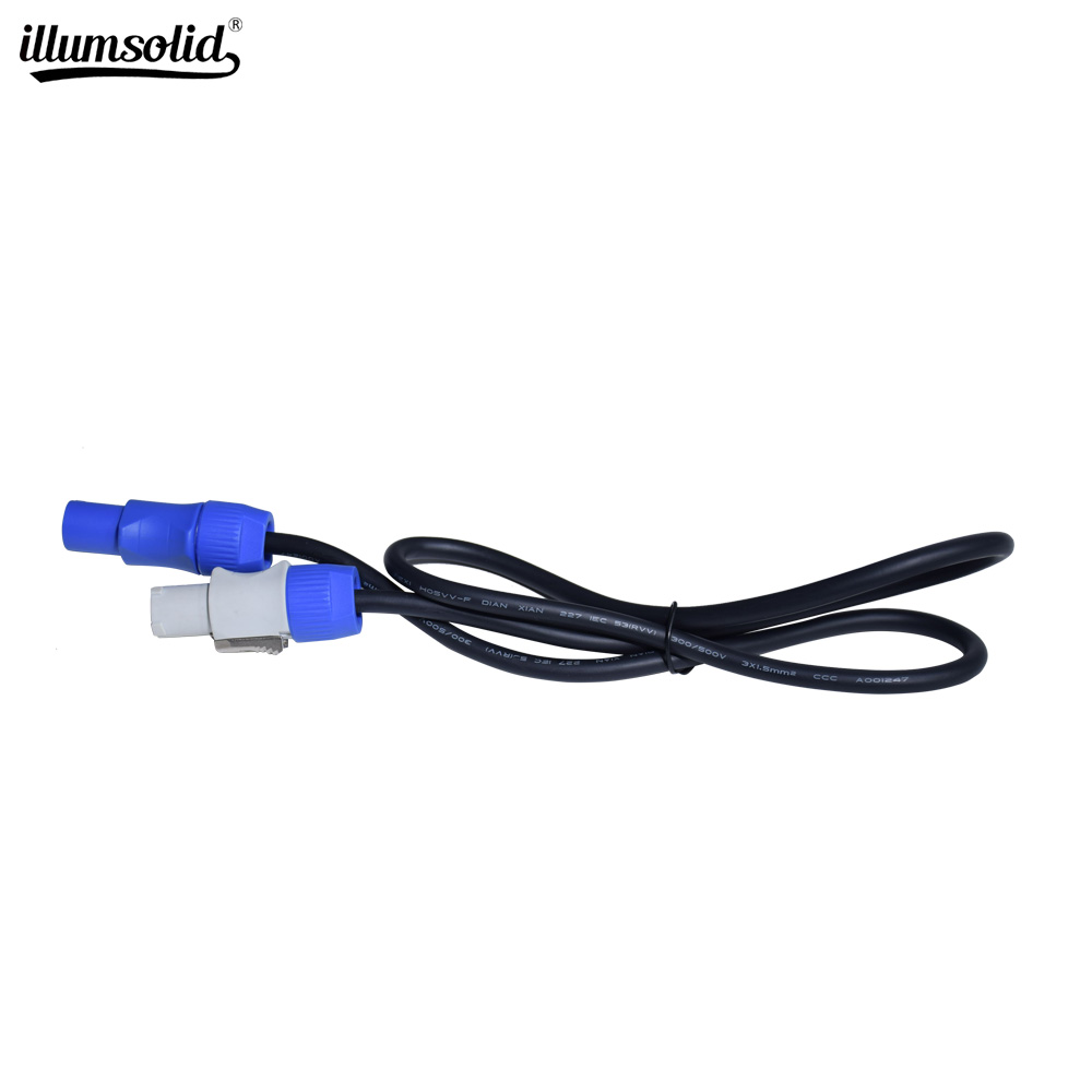 Power Cable Dmx Stage Light 1.5M 1M AC Power Cable For Beam Moving Head Light Beam 5R/7R Moving Head Light
