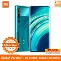 Globale Version Xiaomi Mi 10 5G SA/NSA Qualcomm 865 8 GB 128 GB / 256 GB Smartphone WiFi 6 LPDDR5 UFS 3.0 108 MP Pro Kamera 8K Videoaufzeichnung NFC Google Pay AMOLED Display