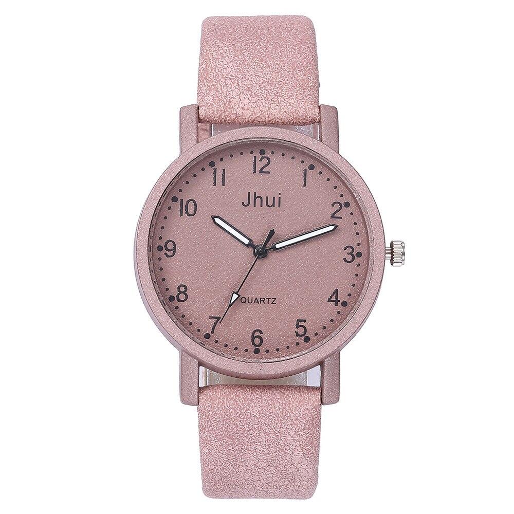 Women's Casual Quartz Watches Relogio Feminino Women Leather Band New Strap Watch Analog Wrist Watch Men Watch Relogio Masculino