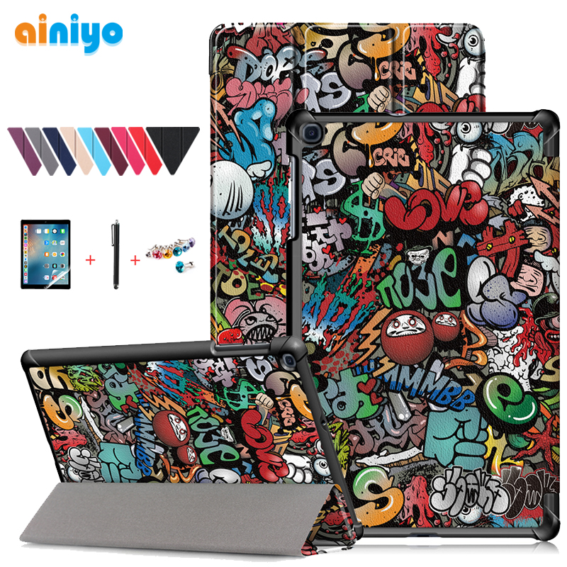 "For Samsung Galaxy Tab A T510 T515 10.1"" 2019 Magnetic Case Cover For Samsung Tab A SM-T510 SM-T515 Protective Case + Gifts"