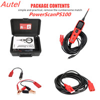 Original Autel PowerScan PS100 Electrical System Diagnosis Tool Autel PS100 Power Scan PS100 Car Auto Circuit Tester