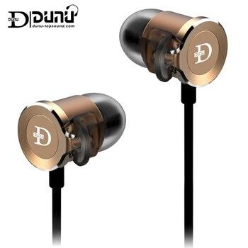 Original Dunu DN2000 DN-2000 HIFI Earbuds Triple Drivers Ultimate quality hybrid IEMs Premium Hybrid 3way in-ear Earphone