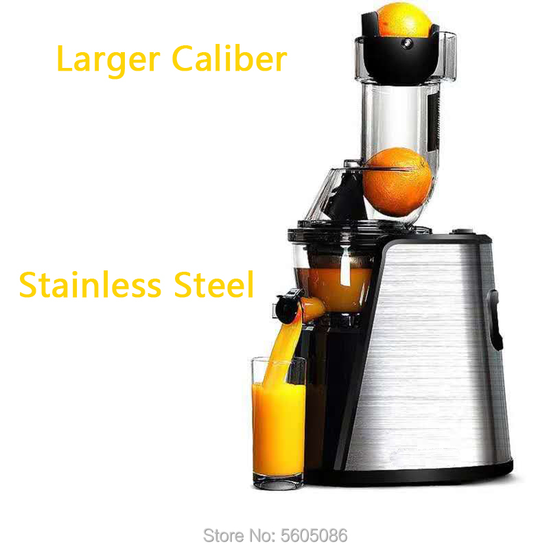 Apple Orange Juicer Slow Speed Presser Extractor Easy Clean Fruits Blender Machine Juicer