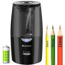 Tenwin duża automatyczna elektryczna temperówka do ołówków Heavy Duty papiernicze do kolorowych ołówków mechaniczne USB dla dzieci artystów
