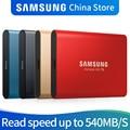 Samsung T5 PORTÁTIL ssd DE 250 gb 500 gb 1 tb TB USB3.1 DRIVES De estado Sólido Externo Usb 3.1 Gen2 2 e para trás compatível para PC