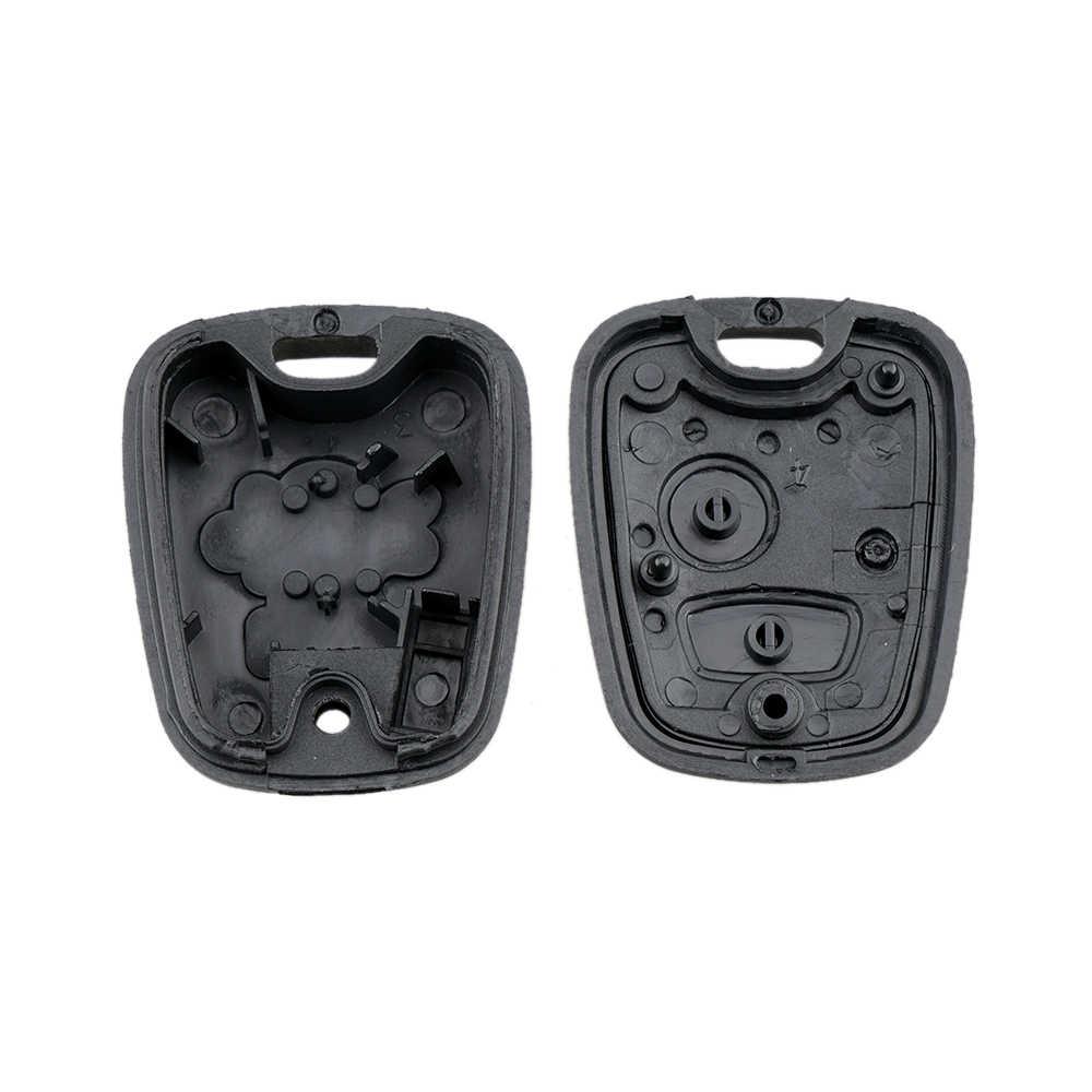 Cubierta de carcasa de repuesto de llave de coche con llave remota de 2 botones para Citroen C1 C2 C3 C4 XSARA Picasso para peugeot 307, 207, 407, 206
