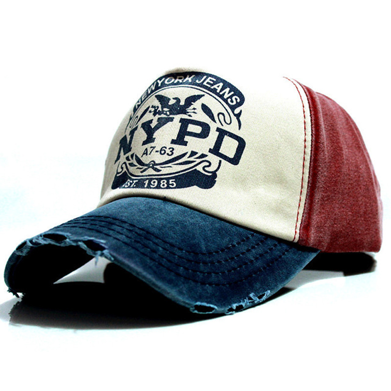 baseball     cap   fitted hat Casual 5 panel hip hop hats wash for men women unisex