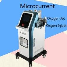 8 Bar Oxygen Jet Peel Water  Israel Technology 7 in 1 Hydra Facial Microcurrent HydraOxgen Injector Spa Machine