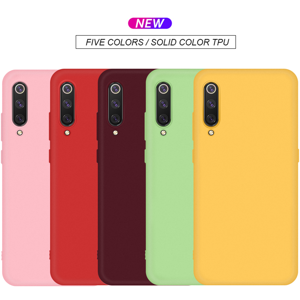 For <font><b>Xiaomi</b></font> <font><b>Mi</b></font> <font><b>A3</b></font> Case Cover Soft Silicone Colored Phone Cover Case For <font><b>Xiaomi</b></font> <font><b>Mi</b></font> A2 <font><b>A3</b></font> Lite Phone Back <font><b>Fundas</b></font> On <font><b>Mi</b></font> A2 Lite Case image