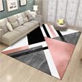 Ковры для гостиной в скандинавском стиле черный геометрический Кристалл бархатистый коврик коврики для гостиной большие ковры для детской...