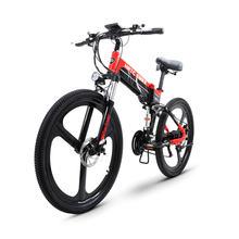 Электрический горный велосипед 26 дюймов 48 В литиевая батарея