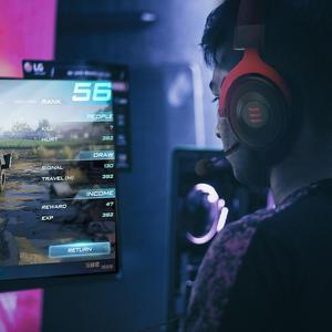 Image 3 - EKSA GamingชุดหูฟังGamerชุดหูฟัง3.5มม.หูฟังหูฟังพร้อมไมโครโฟนตัดเสียงรบกวนสำหรับPC/Xbox/PS4 One Controller