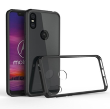 Hybrid Shockproof Cover Air Cushion Frame Case For Moto One Power Crystal Clear Back Shell For Motorola Moto One Fundas Coque недорого