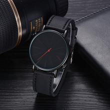Men 's Watch Fashion Casual Bussines Retro Design Leather Round Band heren horloge montre homme 2019 luxe de marque erkek saati