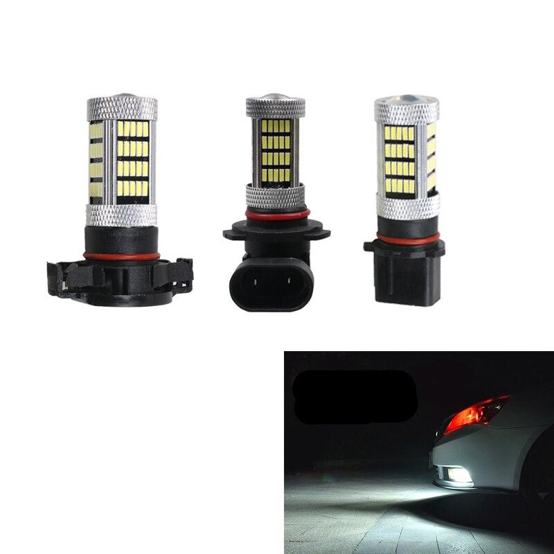 1 stücke 9005 HB3 H8 H11 H16 P13W LED Auto Nebel Licht Nebel Lampe Tagfahrlicht Glühbirne Drehen Parkplatz birne 12V Weiß