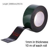 Двойная Двусторонняя губка клейкая лента клейкая наклейка пена клей уплотненительная лента поролоновая губка лента акриловый сильный пен...