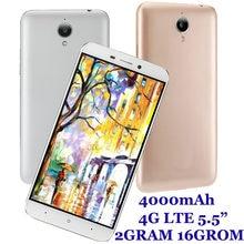 8a 4G LTE 2GB de RAM 16GB ROM 4000mAh Octa Core teléfonos inteligentes 5,5 pulgadas teléfonos móviles 13MP desbloqueado Android barato Celulares 2SIM IPS