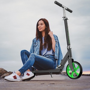 Factory Direct Teenagers Adult Scooter Two-Wheeled Work Scooter Portable Foldable Big Wheel Scooter