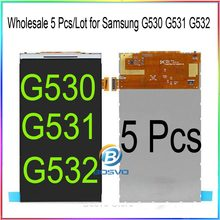 Atacado 5 pçs/lote para Samsung G530 G531 G532 lcd screen display