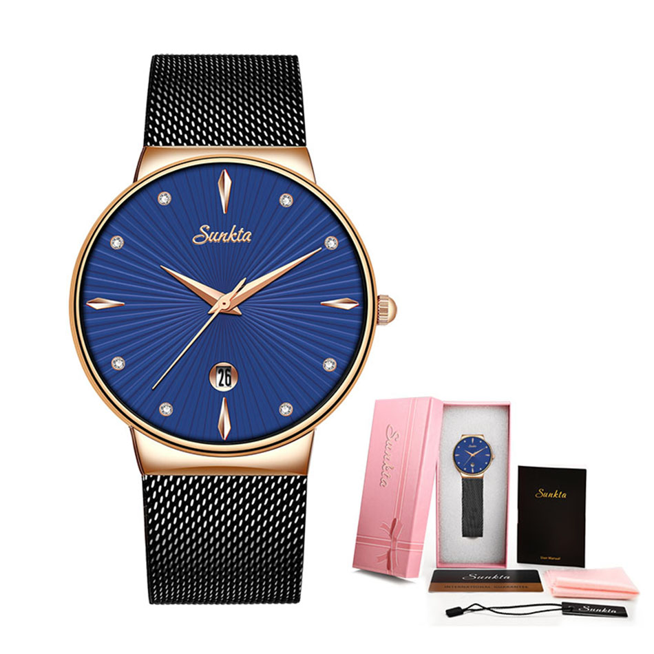 2019-SUNKTA-Fashion-Quartz-Watch-Women-Watches-Ladies-Girls-Famous-Brand-Wrist-Watch-Female-Clock-Montre 副本