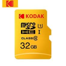 KODAK-tarjeta de memoria Micro SD Clase 10, 128GB, 64GB, 32GB, 16GB, U1, 4K, U3, 256GB, 512GB