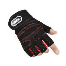 Gym Gloves Fitness Half-Finger Non-slip Horizontal Bar Dumbbells Mechanical Weightlifting Breathable Wear-resistant Wrist Glove