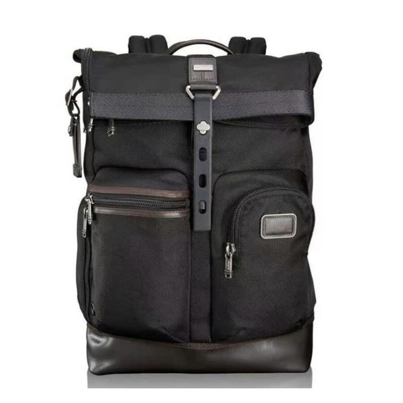 Seyahat masalı dizüstü su geçirmez naylon erkek iş rahat sırt çantası taşınabilir 17 inç bilgisayar çantası