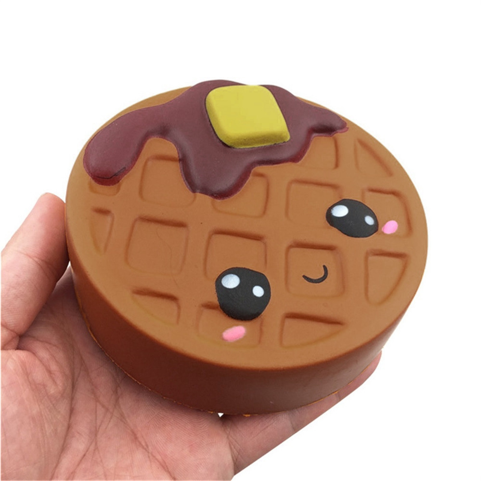 Gift Toy Fidget-Toys Biscuits Antistress-Gadget Chocolates Soft Squishy Cute Kawaii Decompression img2