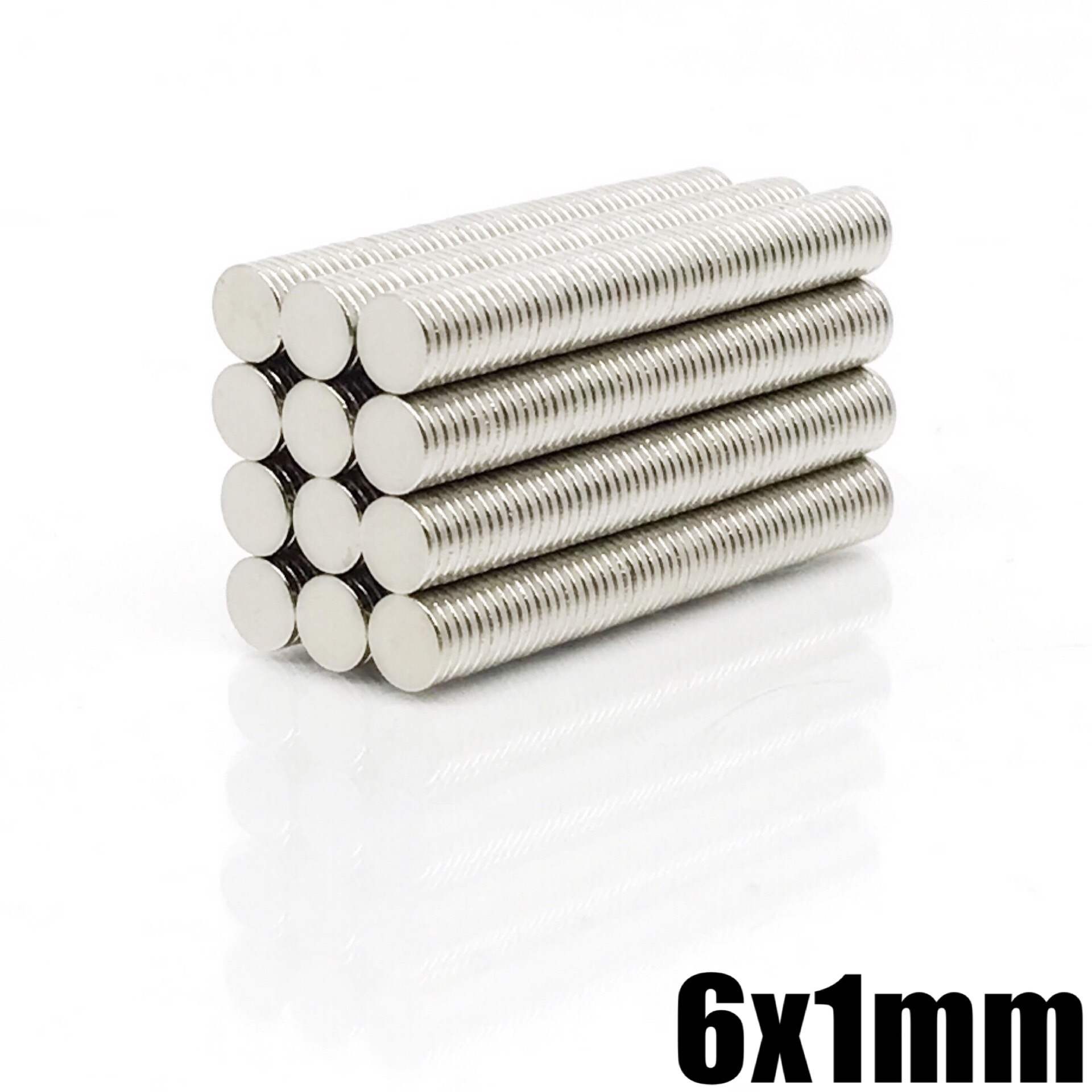 20/50/100/200/500/1000Pcs 6X1 Strong Cylinder Rare Earth Magnet Neodymium Bulk Sheet N35 Mini Small Round Magnets Disc 6*1