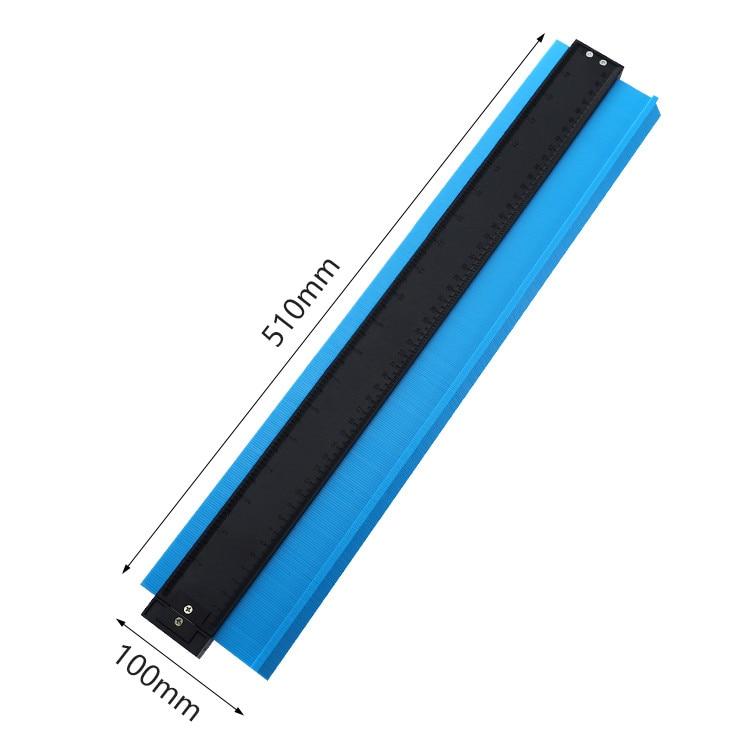 38 #20 дюймов Abs пластиковый контурный дубликатор для копирования круговой рамы профиль калибровочный инструмент 20 дюймов ламинат воздуховоды плитка деревянная маркировка