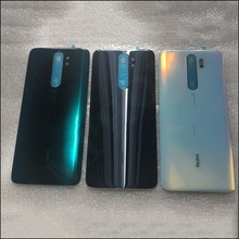Oryginalna obudowa telefonu 4D obudowa baterii pokrywa dla Xiaomi Redmi Note 8 Pro części zamienne bateria tylna pokrywa drzwi darmowa wysyłka