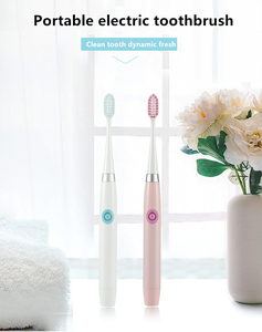 Image 4 - 電気歯ブラシ子供/アダルトソニック電動歯ブラシクリーニング歯交換可能な歯ブラシヘッド口腔ケア