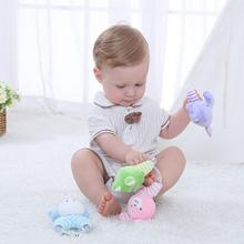 Cute Rattles Educational Toys For Baby Kids Toys 0 6 12 13 24 Months From 0 Developmental Newborn Infants Hand Grip Animals Frog
