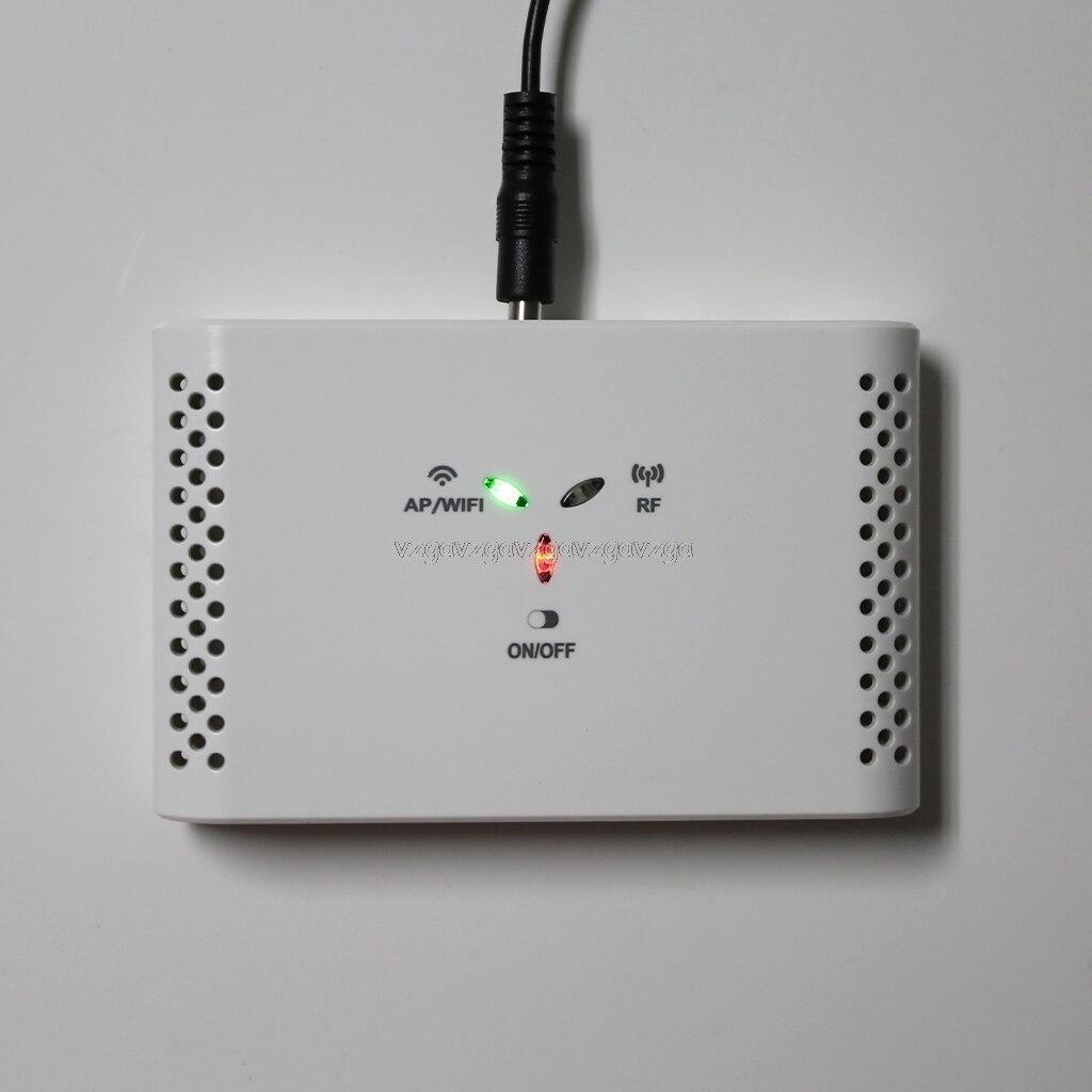 SASWG-03 WIFI Smart Thermostat Gateway With EU Adapter + SEA801-DF WiFi APP Thermostat Temperature Controller