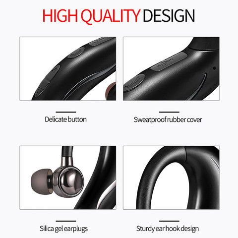 Bluetooth 4.2 Wireless Headphone Stereo Sports Earbuds In-Ear Headset CVC6.0 Noise Cancelling For iOS Xiaomi Iphone Pakistan