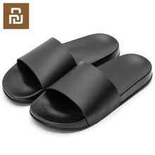 Nowe Mijia One Cloud kapcie męskie czarno białe buty antypoślizgowe slajdy łazienka lato Casual Style miękkie podeszwy klapki