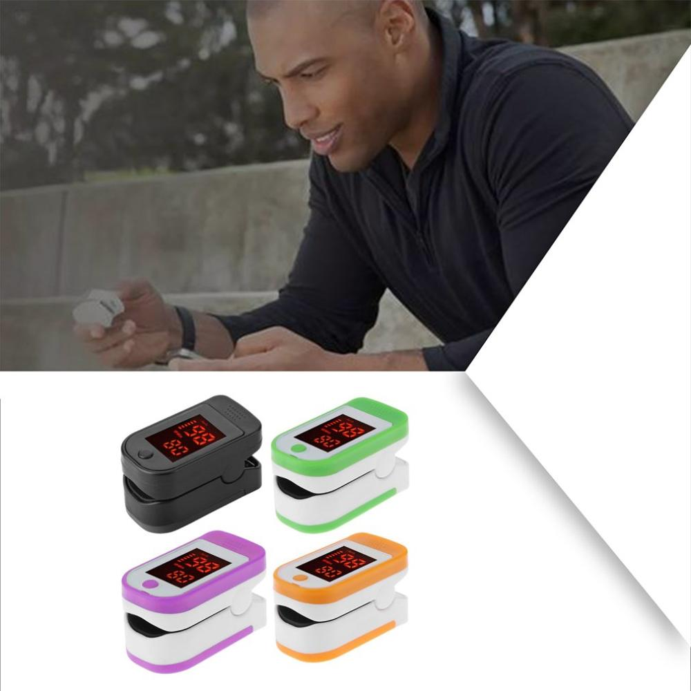 Pulse Oximeter Monitor Finger Pulse Oxymeter Digital Oxygen Meter Clip Type Spo2 Pr Sensor Oled Display Pulse Oximeters