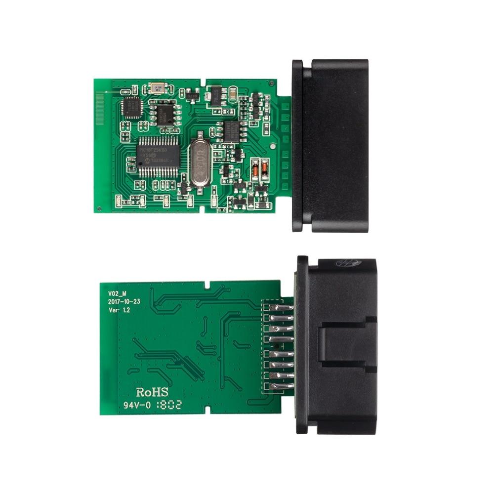 H5f9b0e82b5d545869839aa4314636a82d OBD2 ELM327 V1.5 Bluetooth/WIFI Car Diagnostic Tool ELM 327 OBD Code Reader Chip PIC18F25K80 Work Android/IOS/Windows 12V Car