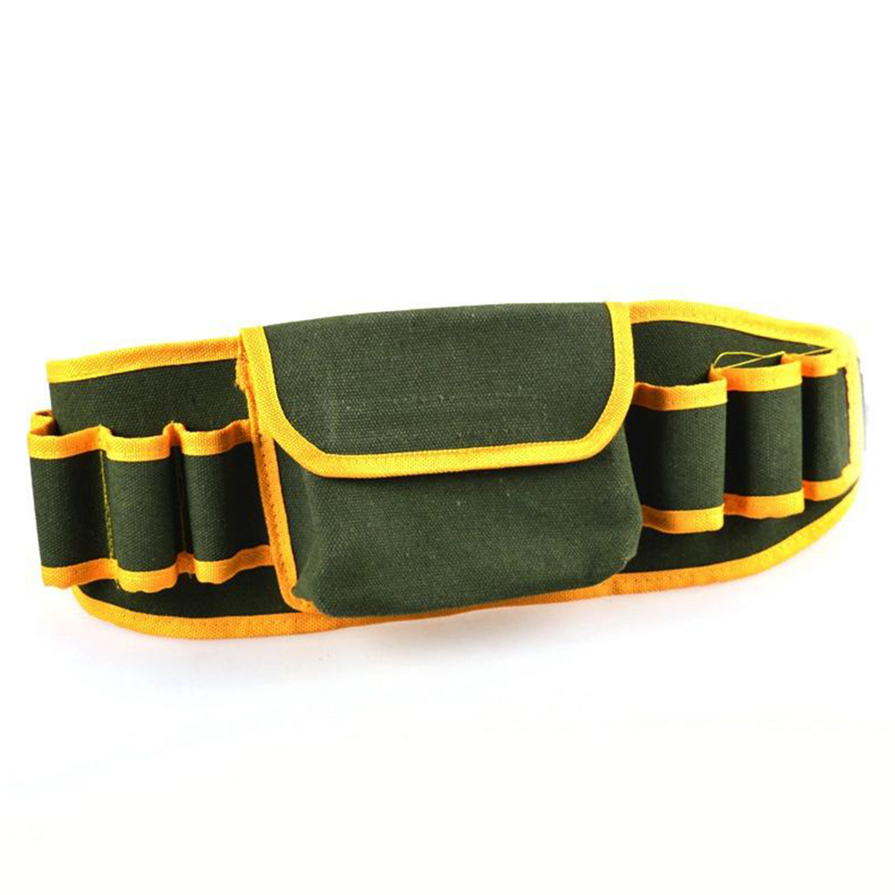 Tool Waist Bag Portable Hardware Mechanic Canvas Bag Electrician Multifunction Pouch Holder Belt Packs Work Tool Kit