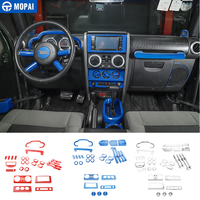 MOPAI Car Stickers for Jeep Wrangler JK 2007 2010 Car Interior Decoration Accessories for Jeep Wrangler JK 2007 2008 2009 2010