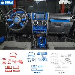 Samochód mopai naklejki dla Jeep Wrangler JK 2007 2010 akcesoria do dekoracji wnętrz samochodów dla Jeep Wrangler JK 2007 2008 2009 2010 w Naklejki samochodowe od Samochody i motocykle na