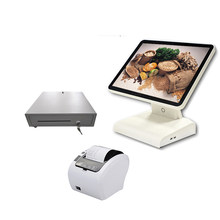Big Stock POS 15 นิ้ว Capacitive Touch Screen POS Cash Register POS PC(China)