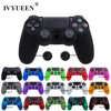 IVYUEEN 25 Colors Anti slip Silicone Cover Skin Case for Sony PlayStation Dualshock 4 PS4 DS4 Pro Slim Controller & Stick Grip