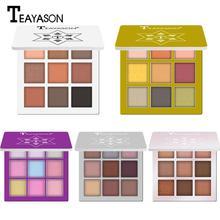 Luminous Shimmer Glitter Eye Shadow Powder Matte Fashion Makeup Pallete Pigmented Eyeshadow Highlighter Beauty
