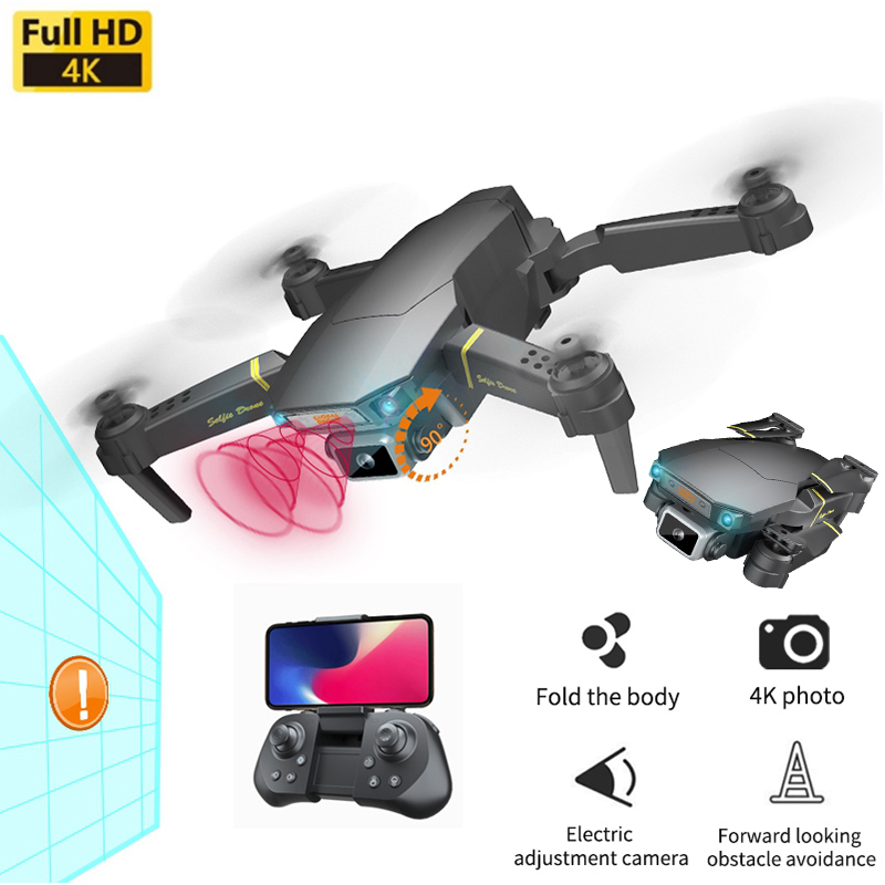 FPV Drones 4K Professional Camera Dron Optical Flow Me RC Quadcopter Wide-angle Camera Drone Toys 1080P HD Wifi Mini Drone Gifts 1