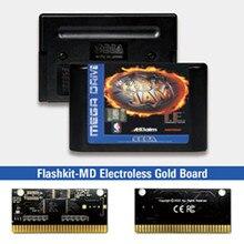 NBAED Jam Tournament Edition   EUR Label Flashkit MD Card per Console per videogiochi Sega Genesis Megadrive