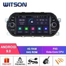DE со! WITSON Android 9,0 ips HD экран автомобильный DVD для FIAT TIPO EGEA- 4GB ram+ 64GB FLASH 8 Octa Core+ DVR/wifi+ DSP+ DAB