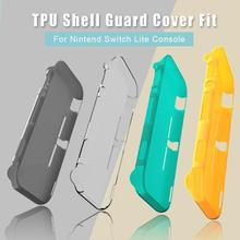 TPU Protection Case Shell Guard Cover for Nintend Switch Lite Console Transparent Game Protector