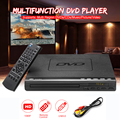 Домашний HD DVD-плеер, мультимедийный цифровой Телевизор с поддержкой USB, DVD-видео/DVD + RW CD аудио/VCD/SVCD JEPG/MP3/WMA/дисковая Система домашнего кинотеат...
