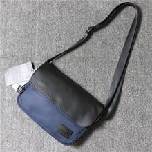 Nylon Casual Men Shoulder Bag Korean Sport Vintage Designer Shoulder Bag Minimalist Travel Bolsos Hombre Crossbody Bag DE50NDJ